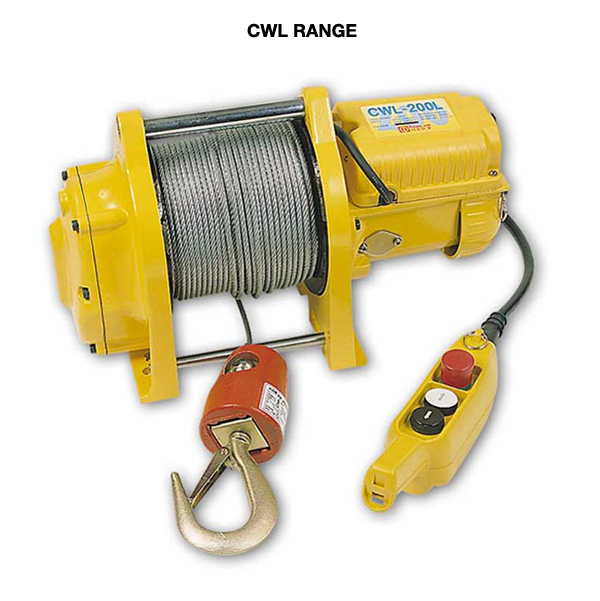 PACIFIC ELECTRIC WINCH CWL-301L