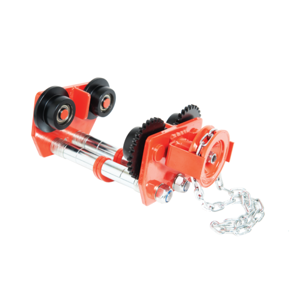 PACIFIC 10t 2PIN GEARED TROLLEY