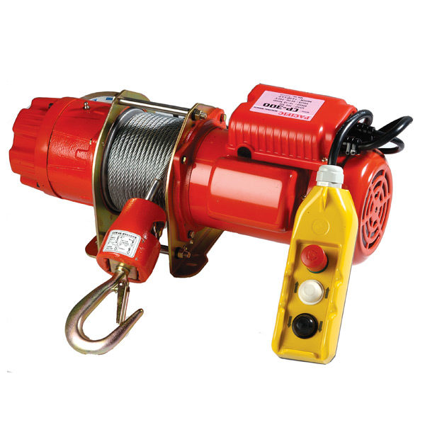 PACIFIC ELECTRIC WINCH 750kg 24v LV CONTROL 415v CP750T
