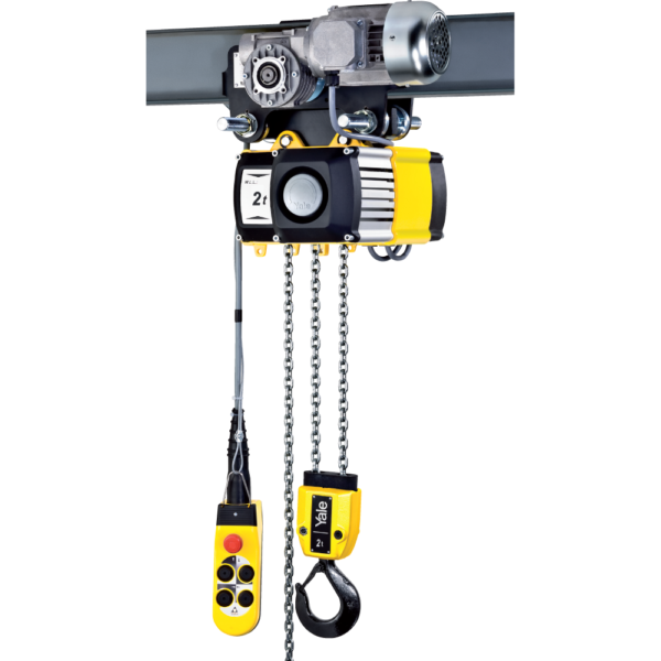 YALE ELECTRIC HOIST 5t | DUAL SPEED | 2 FALL