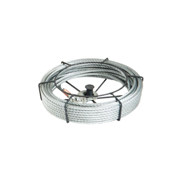 BHW1200 WIRE ROPE (5MM X 20MT) GALVANISED; W/ THIMBLE & EYE