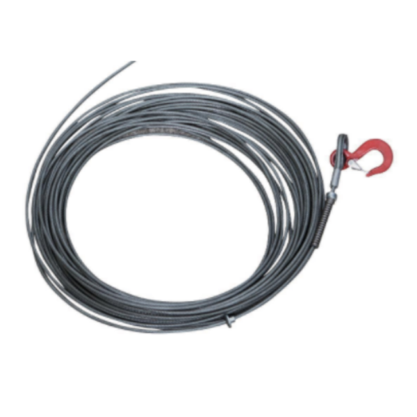 YALE MTRAC WIRE ROPE 40m | INC. TAPER & HOOK