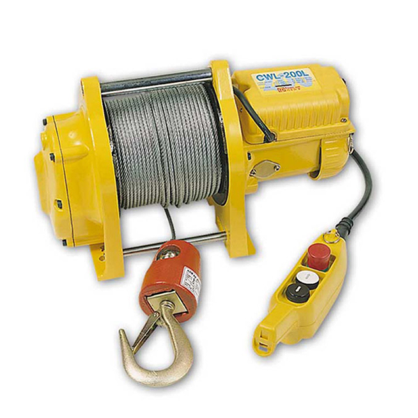 PACIFIC ELECTRIC WINCH 200kg 240v